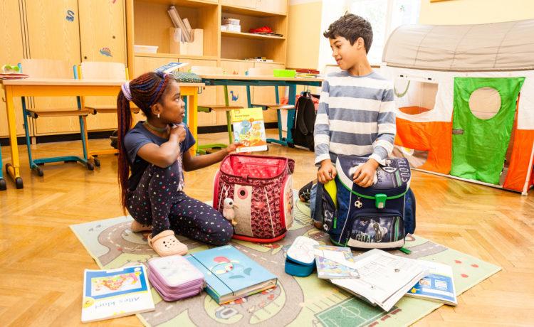 Schulbeginn und erste Schulwoche